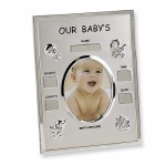 birth record baby photo frame