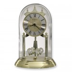 brass finish anniversary clock