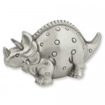 Triceratops Metal Bank