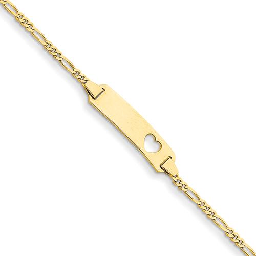 14k Yellow Gold ID Bracelet