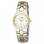 Ladies Two-Tone Bracelet Band Citizen Watch