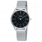 Pulsar Ladies Silver Finish Mesh band Watch