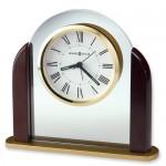 Rosewood Finish Quartz Alarm Clock
