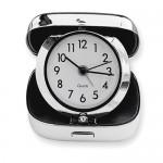 Stainless Steel Square Travel Alarm Clock