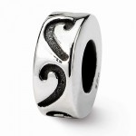 Sterling Silver Reflections Stopper/Spacer Bead
