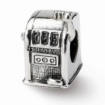 Sterling Silver Reflections Slot Machine Bead