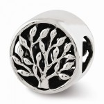 Sterling Silver Reflections Tree Bead