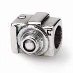 Sterling Silver Reflections Camera Bead