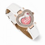 Hello Kitty White Strap Watch