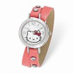Hello Kitty Red Bow Collection Pink Wrap Watch