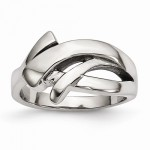 Stainless Steel Polished Fashion Ring