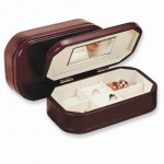 Cherry Finish Jewelry Box