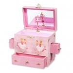 Childrens Ballerina Musical Jewelry Box