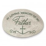 In Loving Memory of My Father Tabletop Rock
