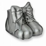 Baby Shoes Metal Bank