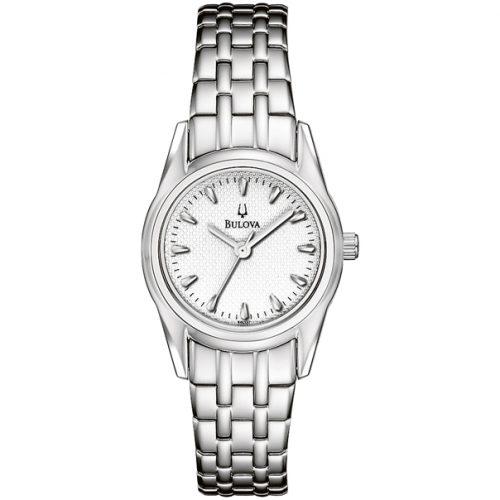 Bulova Ladies Stainless Steel Bracelet Band Watch