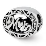 Sterling Silver Reflections Mom Bead