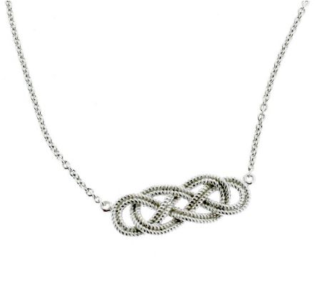 Southern Gates Rope Knot Necklace