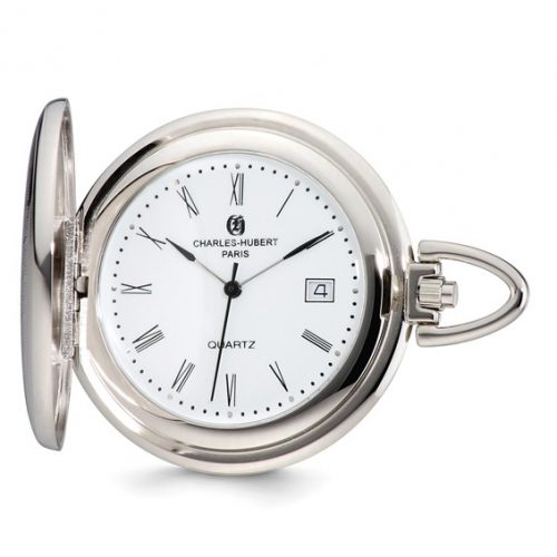 Charles Hubert Shield White Dial Pocket Watch